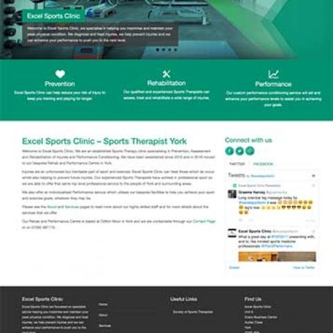 Website design build and cms
