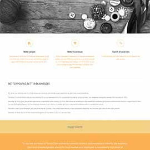 Website design and buil